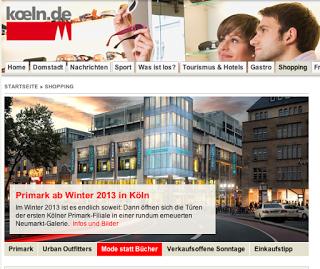 Primark kommt nach Köln II