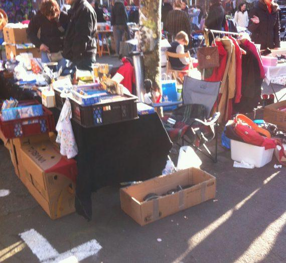 Flohmarkt an der Alten Feuerwache