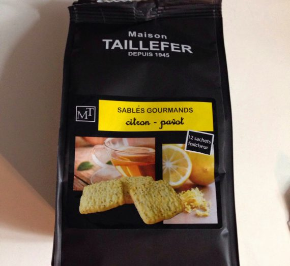 Maison Taillefer Sables Gourmands Citron