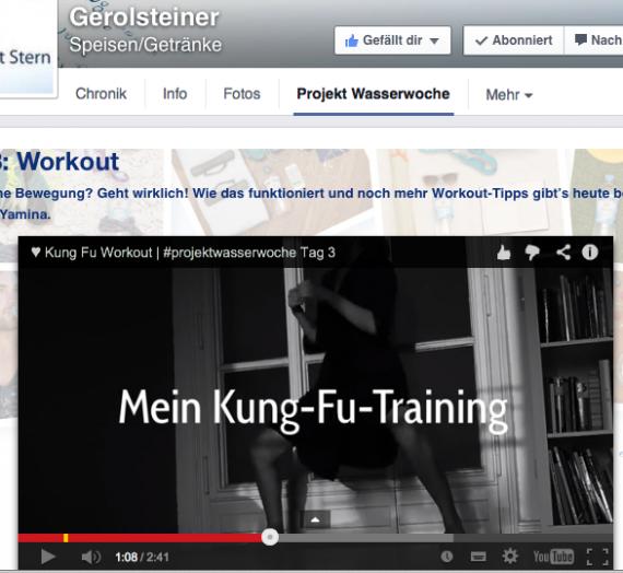 Gerolsteiner – Projekt Wasserwoche – Tag 3