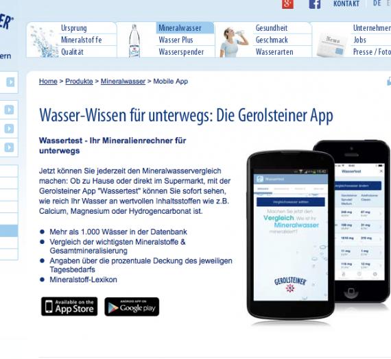 Gerolsteiner – Projekt Wasserwoche –  Tag 5