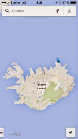 Island: hier waren wir heute