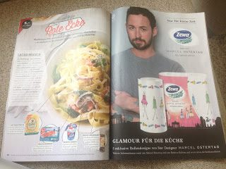 """Marcel Ostertag macht """"Glamour für die Küche"""""""