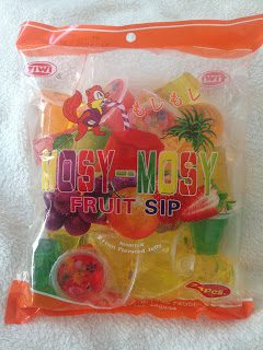 Mosy- Mosy Fruit Sip / Fruchtgelee /  Fruit Flavored Jelly