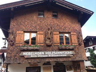 Nebelhorn Holzschnitzerei – Michael Ohmayer