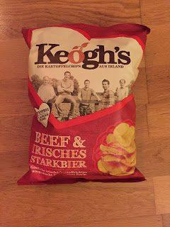 Keogh's Chips Beef und irisches Starkbier