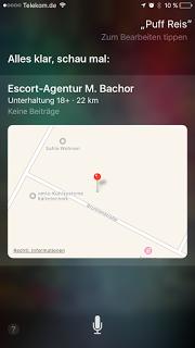 Apple iPhone Siri Fail Fehler deutsch Puffreis
