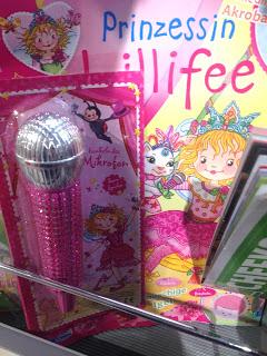 Beigabe zu Zeitschrift Prinzessin Lillifee: Pinkes Mikrofon