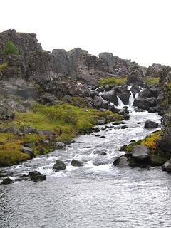 Wasserfall, Þingvellir Thingvellir, Island, Iceland