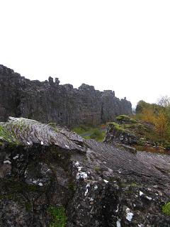 Grabenbruch, Þingvellir Thingvellir, Island, Iceland