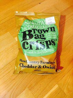 Chipstest: Brown Bag Crisps Cheddar & Onion