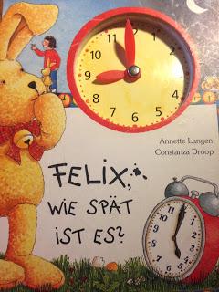 Felix Wie spät ist es? Buch mit Uhrzeiteinstellung