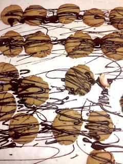 Wir backen Peanut Butter Schokoladen- Cookies