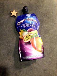 Heute testen wir Capri Sonne mit Mango und Maracuja Geschmack