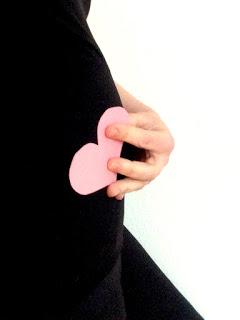 Babybauch - Liebe: Herz 16 Wochen Liebe