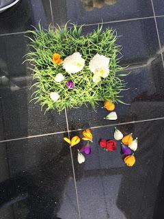 Das Kind killt die Osterdeko und rupft alle Blumen raus