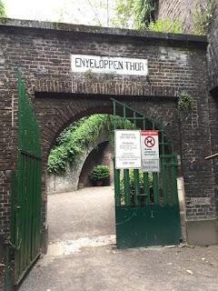 Rosengarten Fort X Köln: Eingangstor (Kostenloser Eintritt)