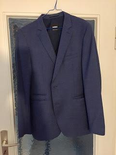 12 von 12 Strellson Anzug blau