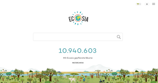 Ecosia Suchmaschine: Wie viele Bäume wurden bereits gepflanzt