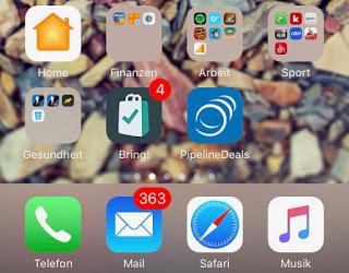12 von 12 im September: Apple IPhone