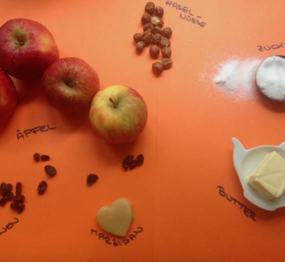 Backen mit Kindern: Easy peasy Backäpfel