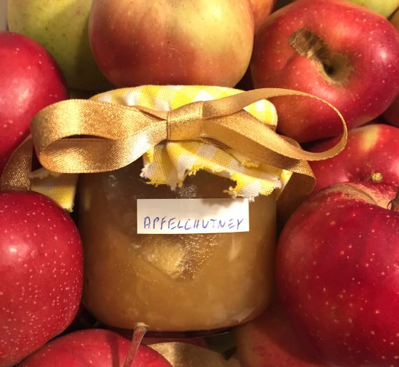 Kochen mit der Oma: Scharfes Apfel- Chutney