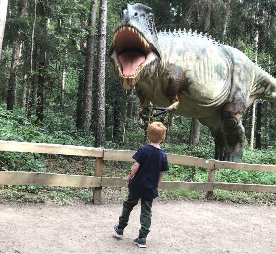 Ausflug mit Kindern: Der Dinosaurier- Park in Münchehagen