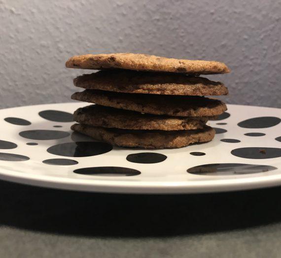 Backen mit Kindern: Schnelle Schokoladenrestekekse