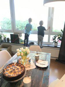 Kinder Fenster Geburtstag Geburtstagskuchen