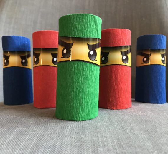 Basteln mit Kindern: Ninjago- Geburtstagseinladungen (mit Einladungs- PDF)