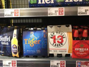 Bierangebot Supermarkt Kölsch Estrella Bier