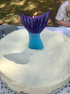 Geburtstagstorte Meerjungfrau Nixe Schwanz