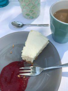 Geburtstagstorte Lemon Cheesecake Himbeere