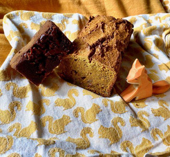 Backen mit Kindern: Süßes Kürbisbrot mit karamellisierten Walnüssen