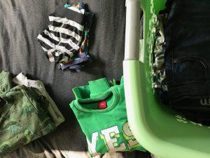 Haushalt Wäsche machen