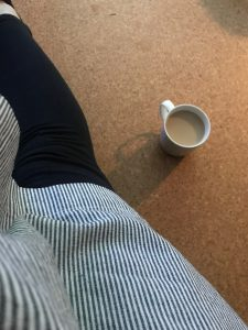 Früh am Morgen erstmal Kaffee