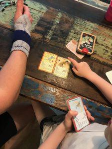 Dino Kartenspiel